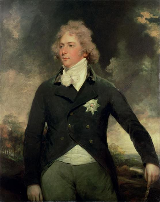 George IV as Prince of Wales. John Hoppner