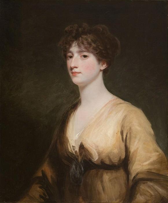 Mrs. Frances Henrietta Jerningham (later Lady Stafford). John Hoppner