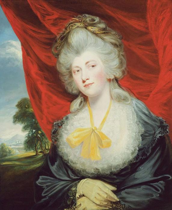 Portrait of the Hon. Isabella Ingram later Marchioness of Hertford (1759-1834). John Hoppner