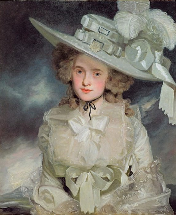 Portrait of Mary Boteler of Eastry, Kent. John Hoppner