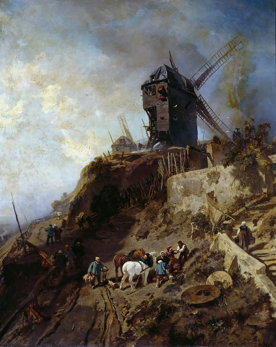 Last Mill on Montmartre. Charles Hoguet
