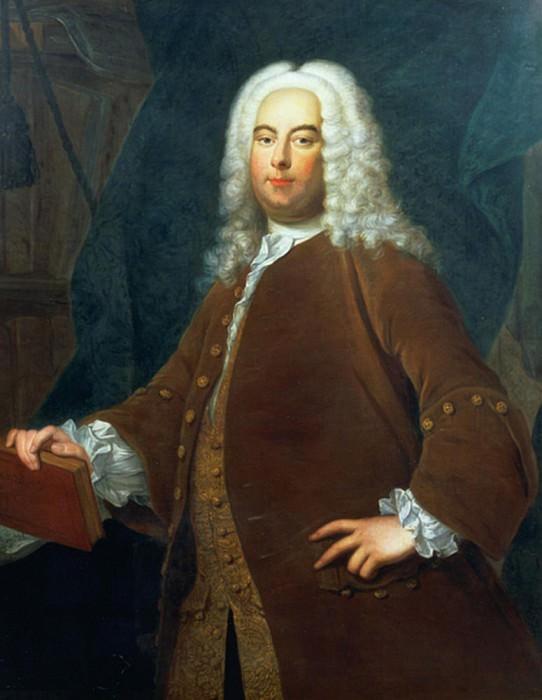 Portrait of George Frederick Handel (1685-1759). Thomas Hudson