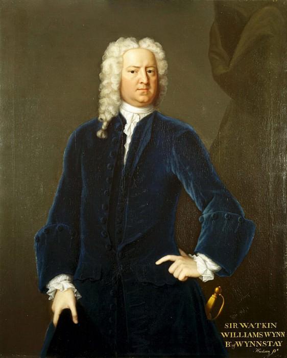 Sir Watkin Williams Wynn. Thomas Hudson