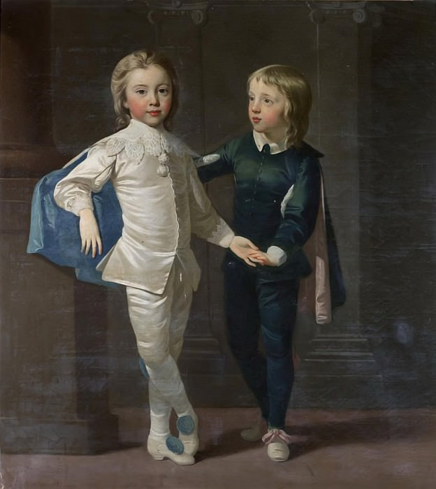 Sir Edward Hulse, 3rd Baronet and his brother, Samuel Hulse. Thomas Hudson