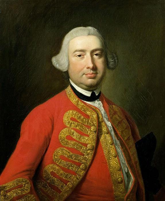 Portrait of John Beard (c.1717-91) actor and vocalist. Thomas Hudson