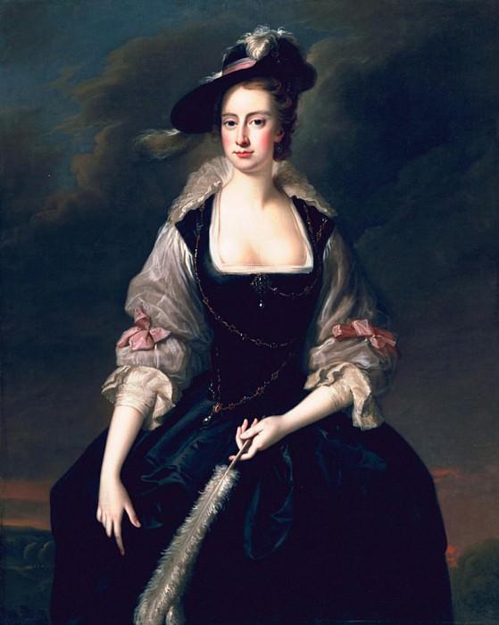 Lady Frances Courtenay. Thomas Hudson
