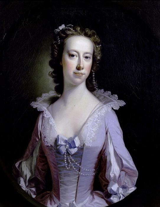 Portrait of a Lady. Thomas Hudson