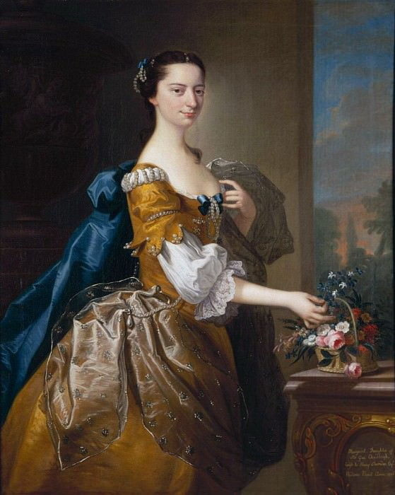 Margaret, Daughter of Sir George Chudleigh Married Henry Oxendon. Thomas Hudson