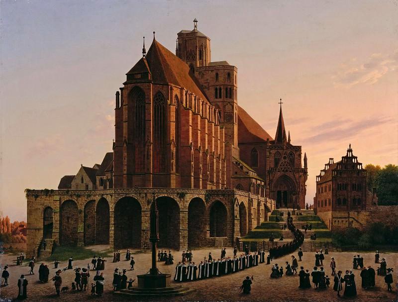 Erfurt Cathedral. Carl Hasenpflug