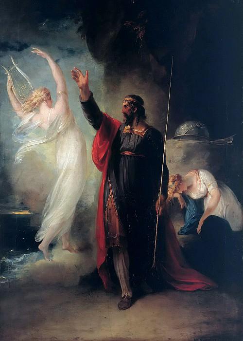 Prospero and Ariel. William Hamilton