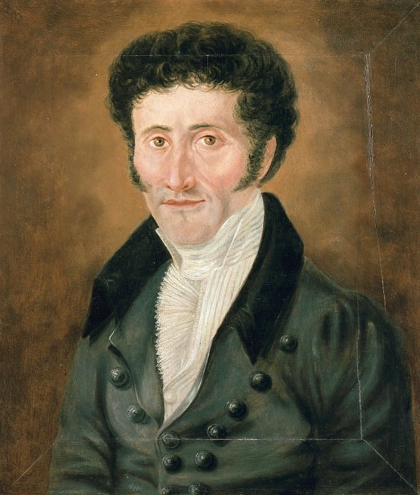 Self Portrait. Ernst Hoffmann