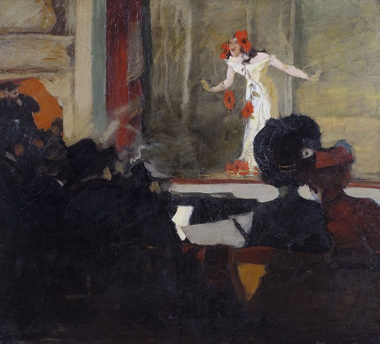 Music-Hall Scene. Gosta von Hennigs