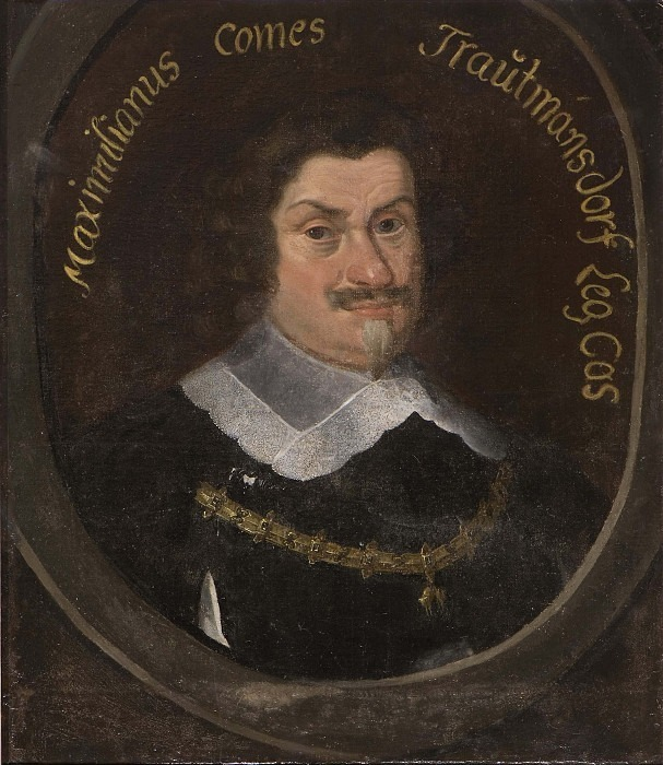 Maximilian von Trauttmansdorff and Weinsberg (1584-1650). Anselm van Hulle (After)