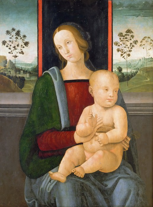 Madonna and Child. Andrea di Aloigi (Ingegno)