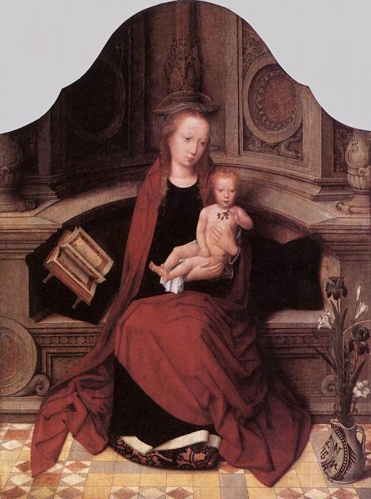 ISENBRANT Adriaen Virgin and Child Enthroned. Adriaen Ysenbrandt Isenbrandt