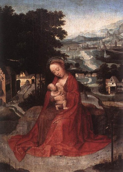 ISENBRANT Adriaen Rest during the Flight to Egypt 2. Adriaen Ysenbrandt Isenbrandt