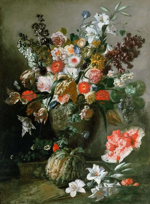Fruit and Flowers. Franz Werner von Tamm