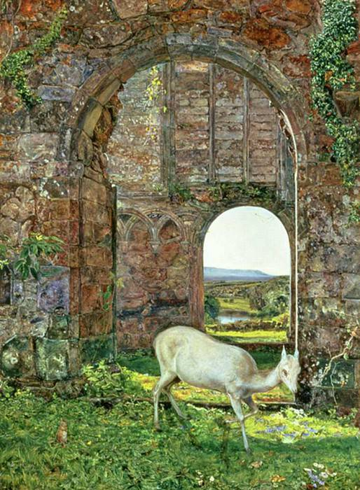 The White Doe of Rylstone. John William Inchbold