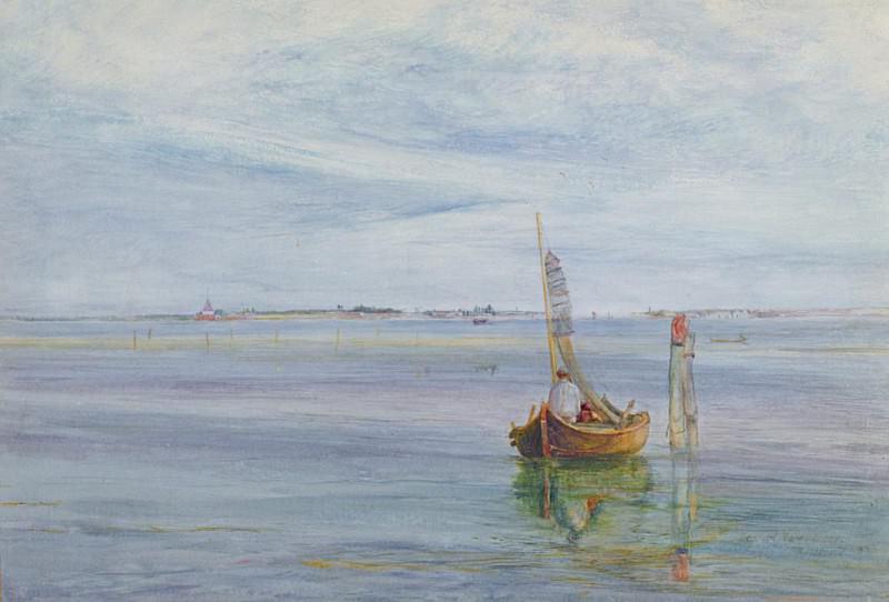 Gate of the Sea, Venice. John William Inchbold