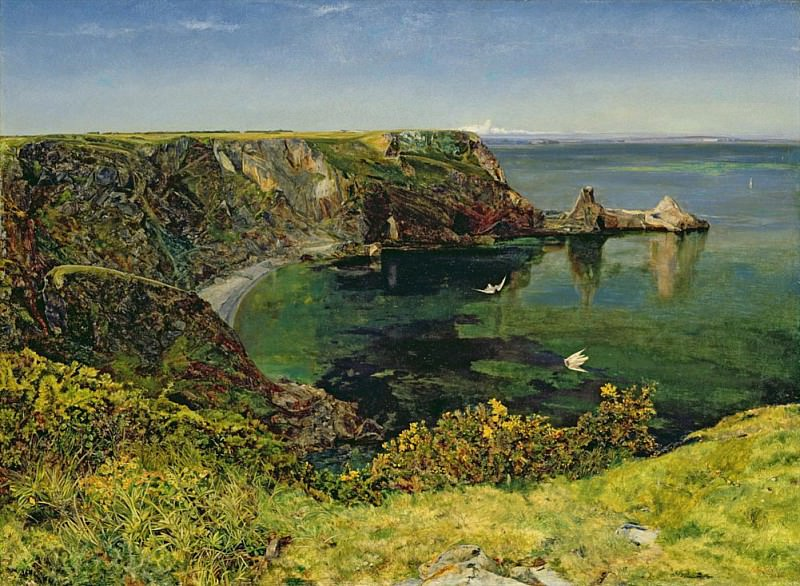 Ansteys Cove, Devon. John William Inchbold