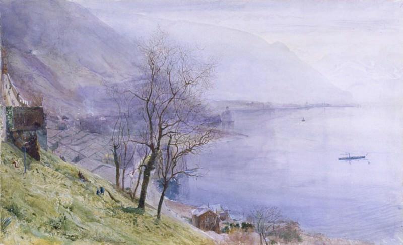 Above Montreux. John William Inchbold