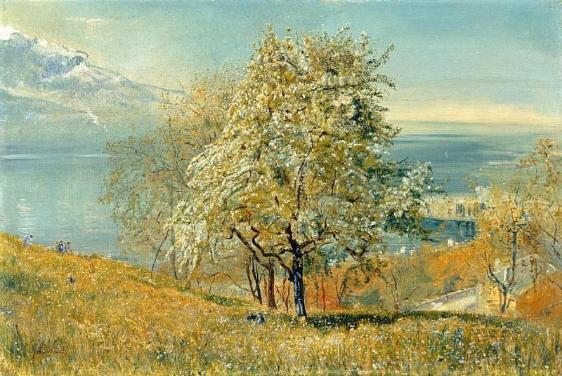 The Lake of Geneva. John William Inchbold
