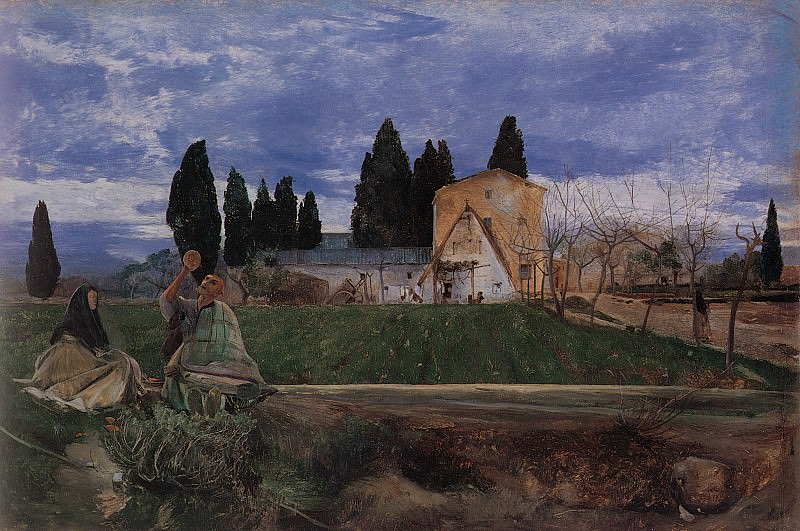 Springtime in Spain: near Gordella. John William Inchbold