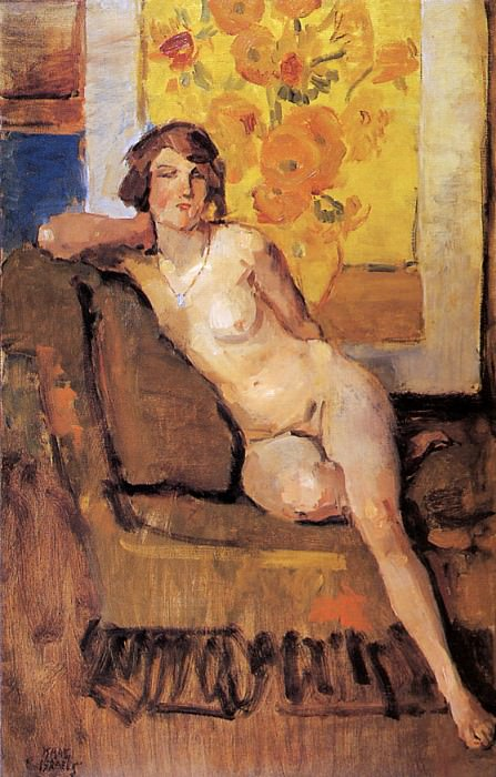 Still life with nude. Isaac Israels