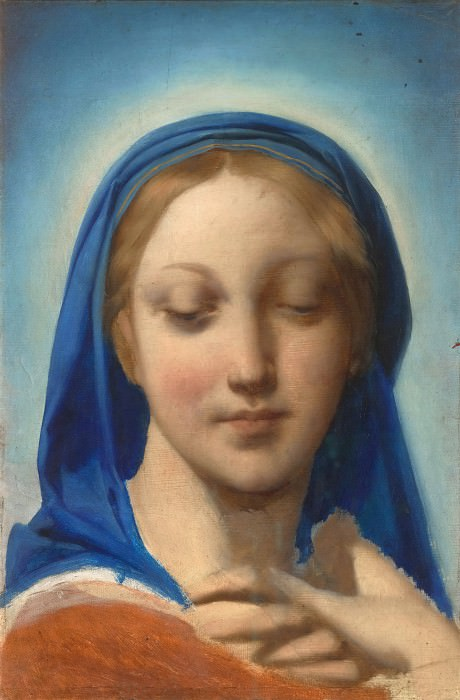 The Virgin Mary. Jean Auguste Dominique Ingres