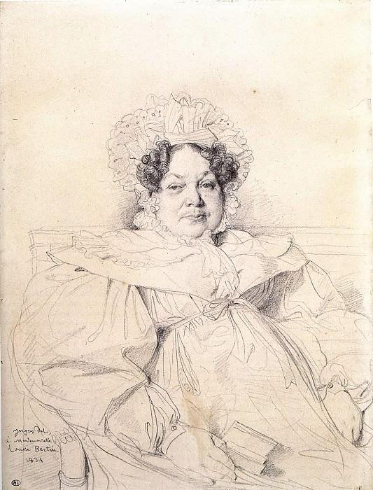 Ingres Madame Louis Francois Bertin. Jean Auguste Dominique Ingres