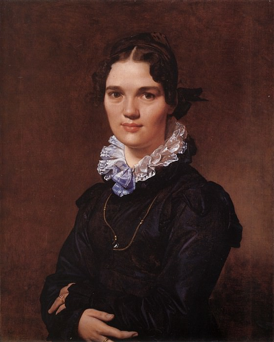 Mademoiselle Jeanne-Suzanne-Catherine Gonin. Jean Auguste Dominique Ingres