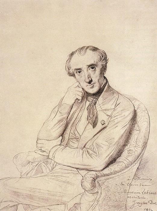 Ingres Pierre Francois Henri Labrouste. Jean Auguste Dominique Ingres