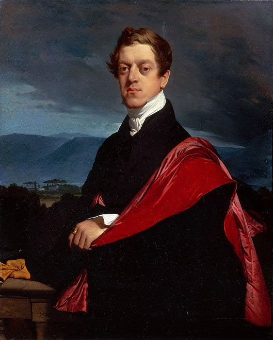 Count Nikolai Dmitrievich Gouriev. Jean Auguste Dominique Ingres