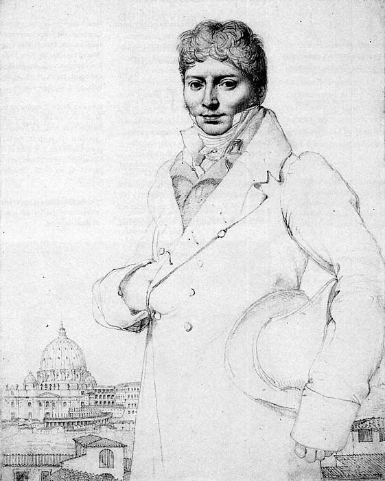 Ingres Dr. Jean Louis Robin. Jean Auguste Dominique Ingres
