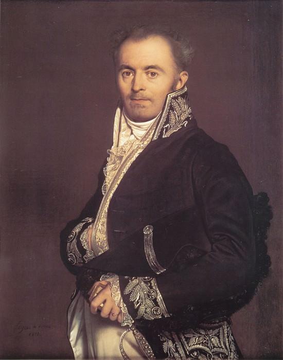 Hippolyte Francois Devillers. Jean Auguste Dominique Ingres