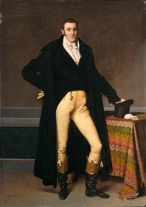 Joseph-Antoine de Nogent. Jean Auguste Dominique Ingres