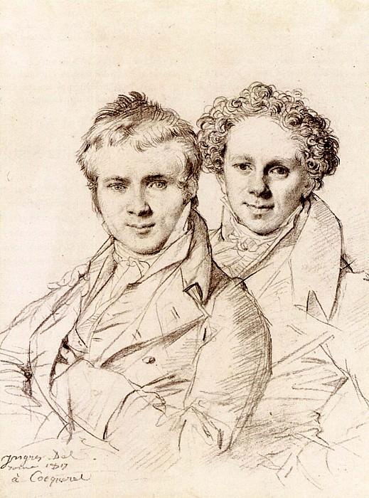 Ingres Otto Magnus von Stackelberg and possibly Jackob Linckh. Jean Auguste Dominique Ingres