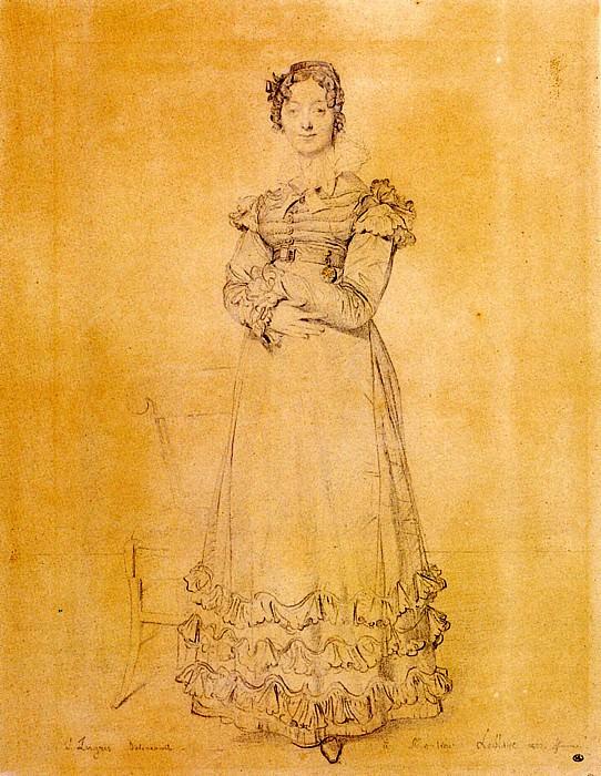 Ingres Madame Louis Leblanc born Francoise Poncelle. Jean Auguste Dominique Ingres