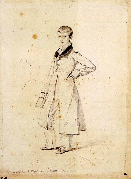 Ingres Felix Leblanc. Jean Auguste Dominique Ingres