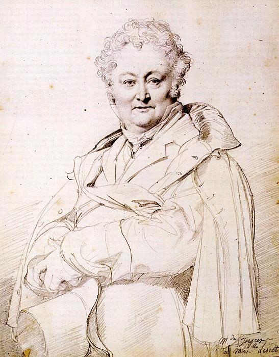 Ingres Guillaume Guillon Lethiere. Jean Auguste Dominique Ingres
