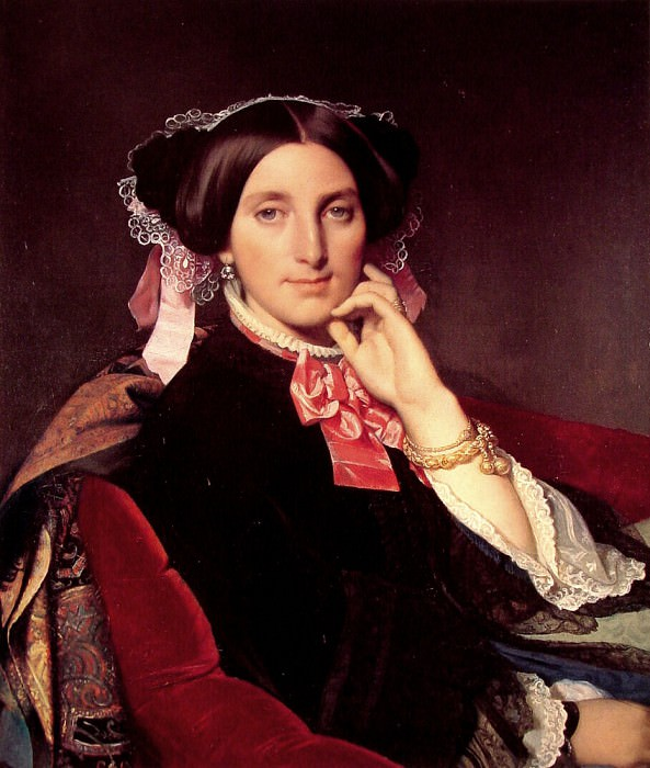 Madame Gonse. Jean Auguste Dominique Ingres
