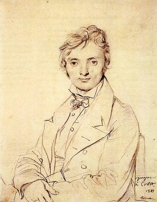 Ingres Jean Pierre Cortot. Jean Auguste Dominique Ingres
