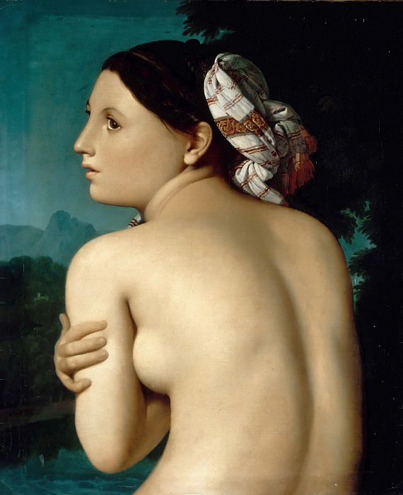 The Bather. Jean Auguste Dominique Ingres