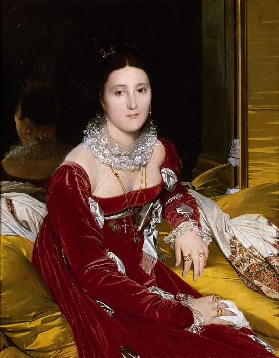 Madame de Senonnes. Jean Auguste Dominique Ingres