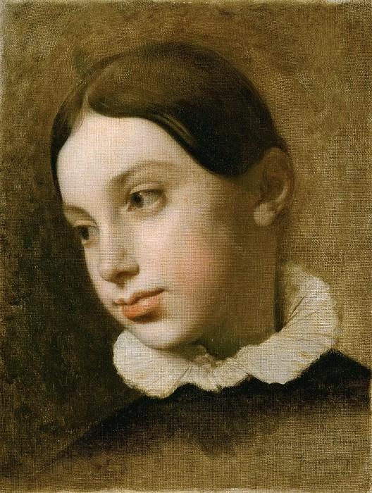 Portrait of Isaure Leblanc (1818-1895). Jean Auguste Dominique Ingres