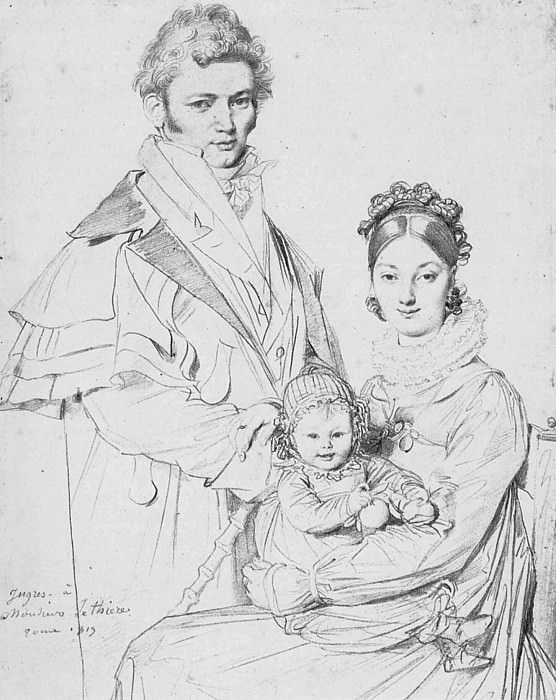 Ingres The Alexandre Lethiere Family. Jean Auguste Dominique Ingres