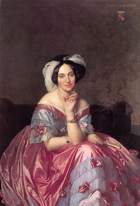 Baronness James de Rothschild. Jean Auguste Dominique Ingres