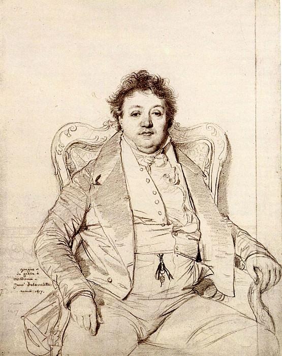 Ingres Charles Thevenin. Jean Auguste Dominique Ingres