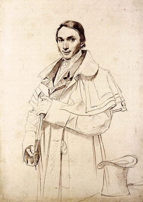 Ingres Jean Francois Antoine Forest. Jean Auguste Dominique Ingres