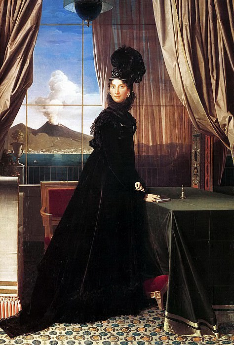 Caroline Murat, Queen of Naples. Jean Auguste Dominique Ingres